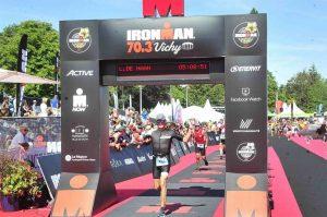 Iron Len at the Ironman 70.3 Vichy 2019