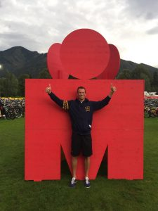 After completing the Ironman 70.3 Zell am See 2017