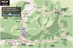 Ironman 70.3 Zell am See bike route