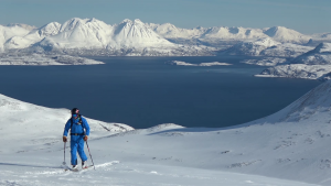 Ski tour and freeride in the Lyngen Alps Norway March 2017