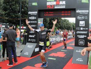 Ironman 70.3 Koper Slovenia 2018 - Crossing the Finish Line