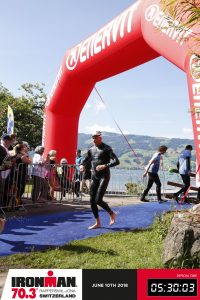Ironman 70.3 Rapperswil-Jona 2018 - After the swim