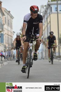 Ironman 70.3 Koper Slovenia 2018 - first part going through the center