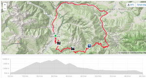 Brixen Italy bike ride through the mountains of South Tirol
