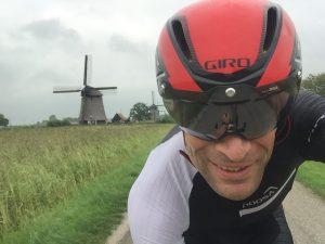 Bike training in The Netherlands for my next triathlon Ironman 70.3 Koper Slovenia