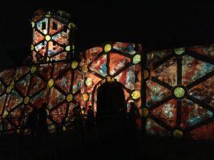 Pula Croatia with a cool light festival 2018