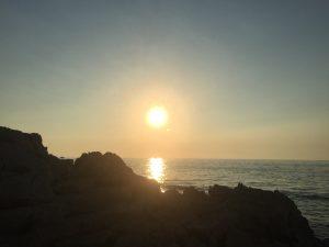 Medulin beach in Istria, Croatia 2018