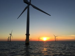 Sunset Wind energy park in the North Sea, Dutch sector