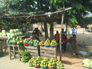 Driving from Accra to Takoradi Ghana