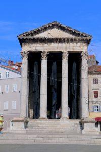 Pula Croatia Temple of Augustus
