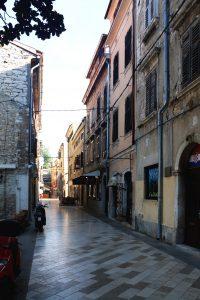 Pula Croatia - little street inner city