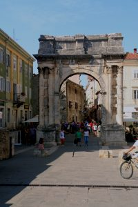 Pula Croatia - Arch of the Sergii
