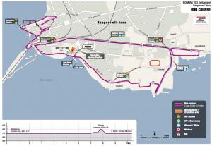 Ironman 70.3 Rapperswil-Jona Run course