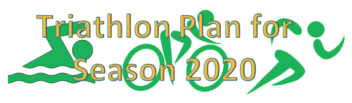 Lennart Triathlon Plan for 2020