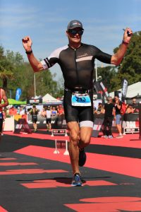 Ironman 70.3 Vichy France 2019 - Just before crossing the finish line