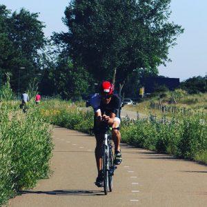 Terriers 1/8 Triathlon 2019 - On my bike, halfway the larger loop