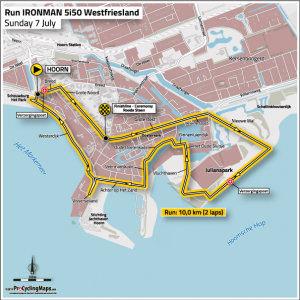 Ironman 5051 West-Friesland Hoorn - run route 2019