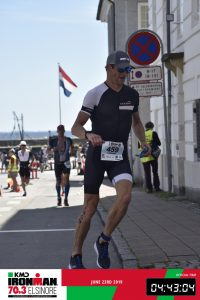 Ironman 70.3 Elsinore Denmark 2019 Running into the town