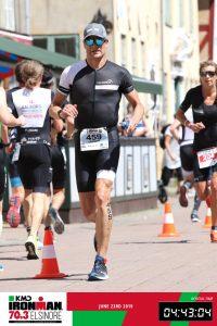 Ironman 70.3 Elsinore Denmark 2019 Running through the center