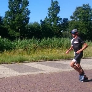 Terriers 1:8 Triathlon 2019 - Last part to the finish line