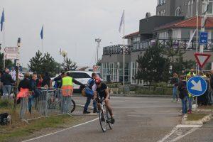 Brouwersdam 90 triathlon bike at start finish