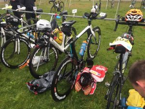 Brouwersdam 90 triathlon transition zone