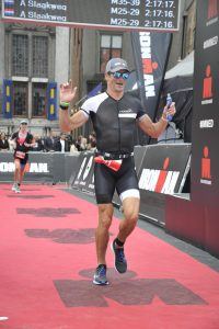 Ironman 5051 Hoorn - Crossing the Finish line 2019