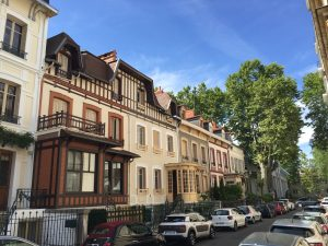 Street in Vichy France