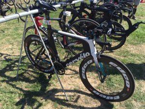 Ironman 70.3 Vichy 2019 - Bike check-in