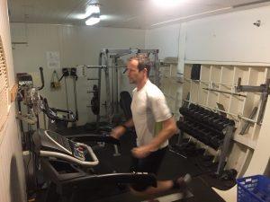 Run training on board of the vessel