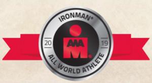 Ironman All World Athlete 2019 Silver Badge