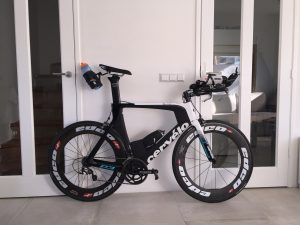 Cervelo P3 triathlon bike ready for the next bike training