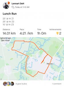 Run training at home