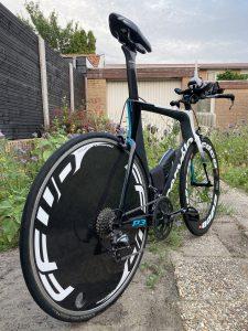 Cervelo P3 triathlon bike - clean bike is a fast bike!