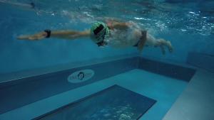Tri2One swim training - side