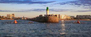 Ironman 70.3 Les Sables d'Olonne 2020 - Swim around the pier