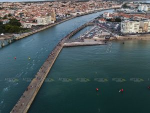 Ironman 70.3 Les Sables d'Olonne 2020 - Swim start