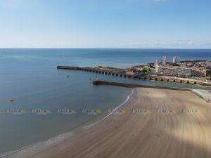 Ironman 70.3 Les Sables d'Olonne 2020 - Beach and pier