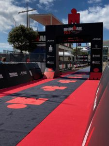 Ironman 70.3 Les Sables d'Olonne 2020 - the Red carpet of the finish line