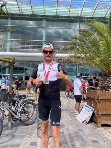 Ironman 70.3 Les Sables d'Olonne 2020 - Finished the triathlon!