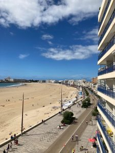 Ironman 70.3 Les Sables d'Olonne 2020 - view from my apartment