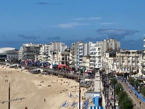 Ironman 70.3 Les Sables d'Olonne 2020 - view of the finish area