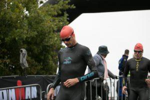 Ironman 5150 Maastricht 2020 - Starting the swim!