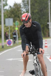 Ironman 5150 Maastricht 2020 - Just before getting off the bike