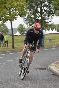 Ironman 5150 Maastricht 2020 - Starting the bike ride