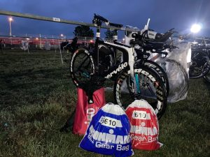 Ironman 5150 Maastricht 2020 - check-in transition