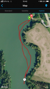 Ironman 5150 Maastricht 2020 - Swim practice in Maas river