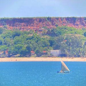 Madagascar impressive rock cliffs
