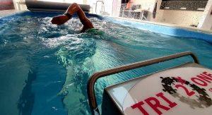Tri2One swim training in Lelystad
