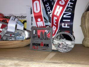 Triathlon season 2020 race medals